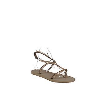 Havaianas | Allure Maxi Metallic Slingback Sandals