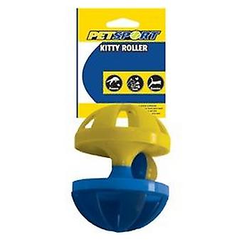 Petsport Kitty Roller Cat Toy - 1 Pack (Assorted Colors)