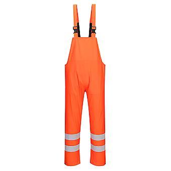 sUw Herren Hi-Vis Safety Workwear Sealtex Bib & Brace Overall