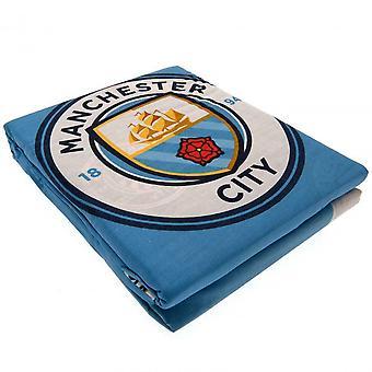 Manchester City FC Pulse Ensemble de housse de couette réversible