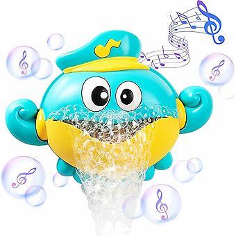 Baby Shower Legetøj, Electric Octopus Bubble Machine Playing Legetøj, Musical Badekar Legetøj, Velegnet til småbørn, Baby Shower Legetøj