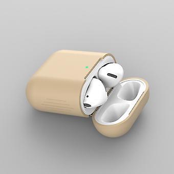 Silica Gel Case für Airpod 2/1 - Braun