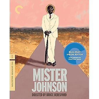 Import USA Mister Johnson [Blu-ray]
