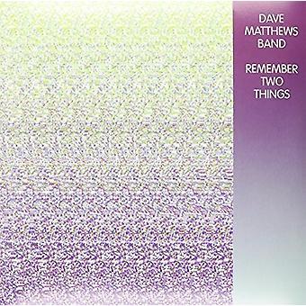Dave Matthews - Remember Two Things [Vinyl] USA import