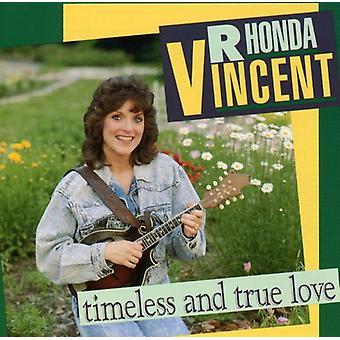 Rhonda Vincent - Timesless & True Love [CD] USA import