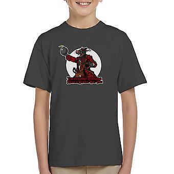 Rata Pirata Rat piraat Kid's T-Shirt