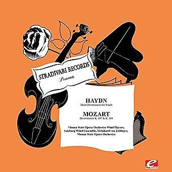 Haydn / Viena State Opera viento Orch jugadores - tres Divertimentos para la importación de los E.e.u.u. de vientos [CD]