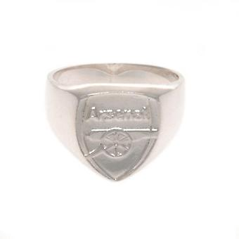 Arsenal Sterling Silver Ring Small