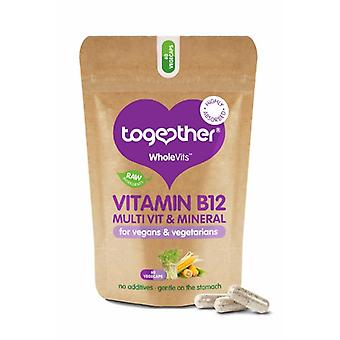Together Health, WholeVit B12 & Diet Support, 60 Capsules