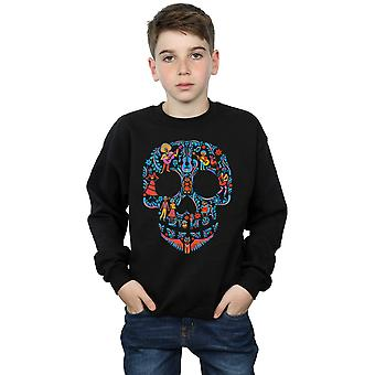 Disney Boys Coco Skull Pattern Sweatshirt