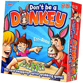 Ideal Don ' t Be A Donkey Card Game ~ * ^^