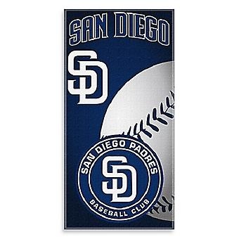 San Diego Padres MLB Northwest Beach Bath Towel