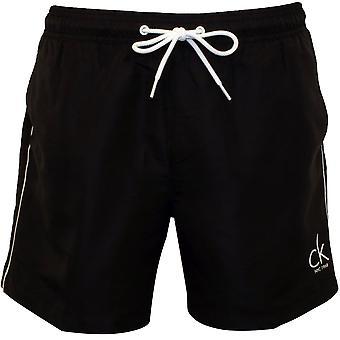 Классический Нью-Йорка CK Calvin Klein плавать шорты, черный