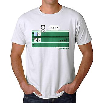 Intellivision Solitaire Hit? Game Men's White T-shirt