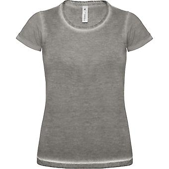 B & C Denim Womens Denim aansluit T Shirt