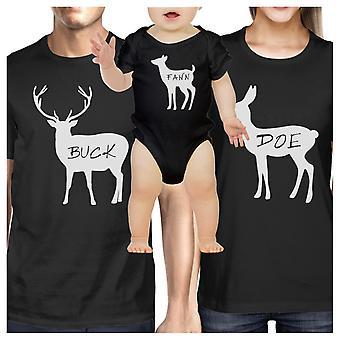 家族ブラック ユニークなグラフィック家族黒 t シャツの贈り物を一致する t シャツ面白い