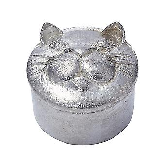 Casting chat étain Trinket Box
