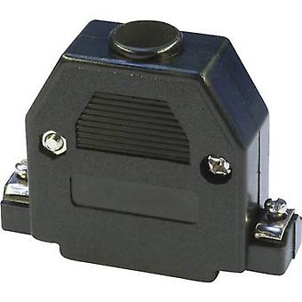 econ ربط PH25SW D-SUB السكن عدد من دبابيس: 25 البلاستيك 180 درجة الأسود 1 جهاز كمبيوتر (أجهزة الكمبيوتر)