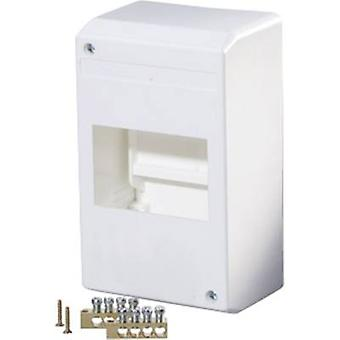 F-Tronic 7260013 KV04K Switchboard cabinet Surface-mount No. of partitions = 4 No. of rows = 1