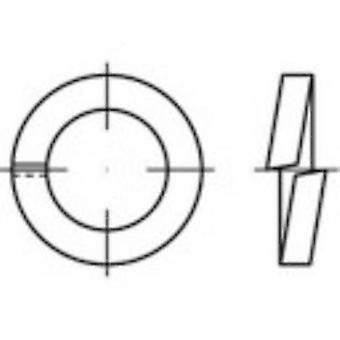 TOOLCRAFT 144951 Split lock rings Inside diameter: 5 mm DIN 7980 Spring steel zinc galvanized 100 pc(s)