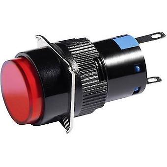 Barthelme LED-lampan rött 24 V DC/AC 5850 0211