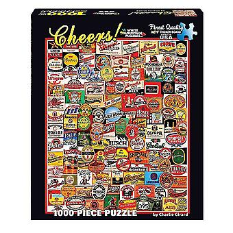 Cheers - Bier Etiketten 1000 Stück Jigsaw Puzzle 760 X 610 Mm