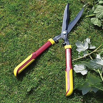 Kingfisher Pro Gold 56cm Hedge Shears Soft Handle Garden Cutting Grass Steel Blade