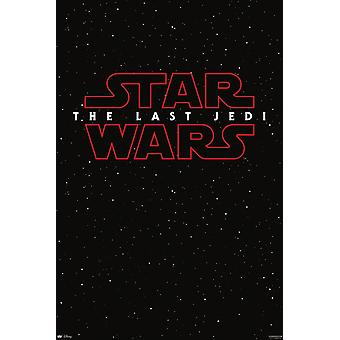 Star Wars Episode 8 Poster The Last Jedi Galaxy Teaser