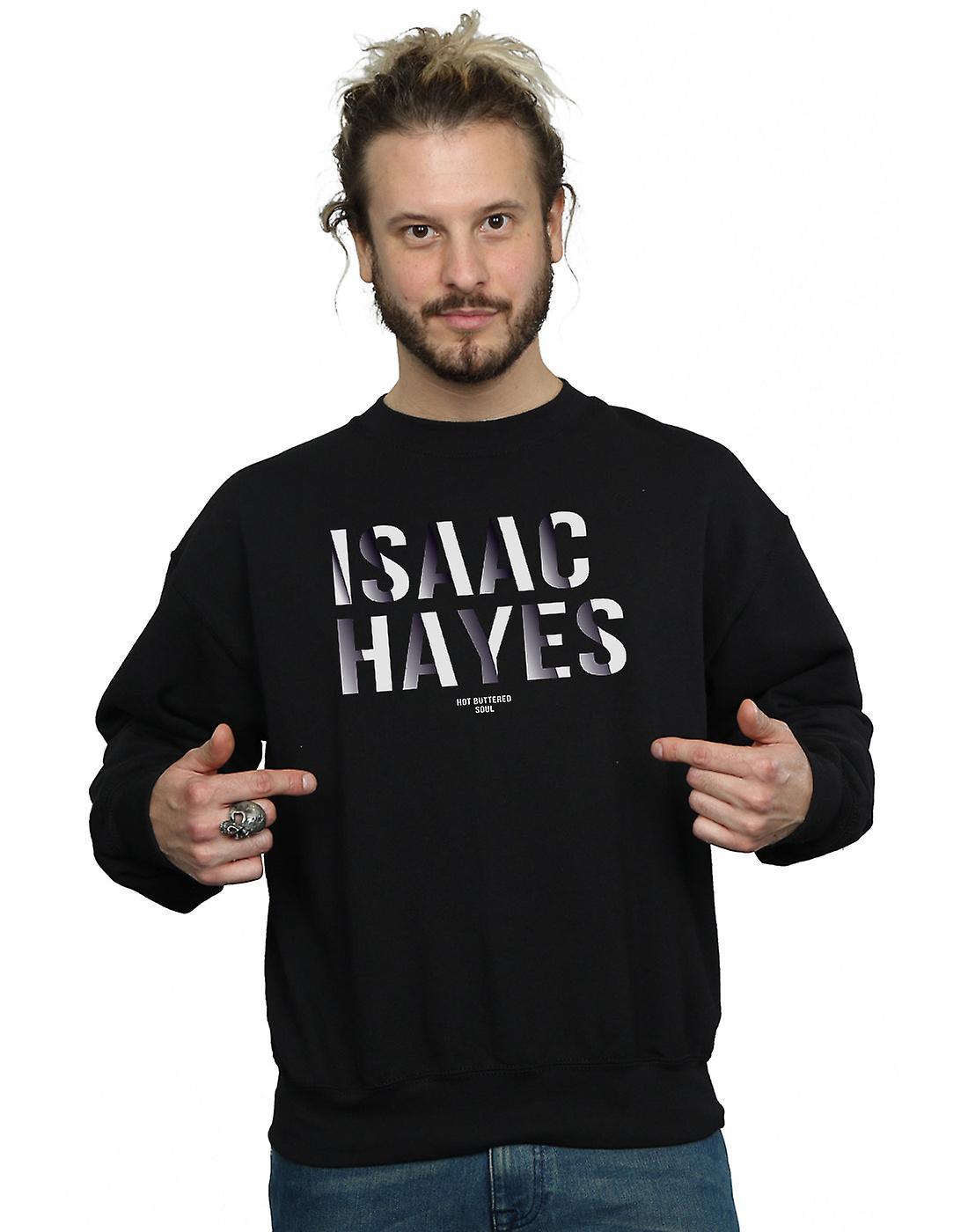 Isaac Hayes Men's Gradient Name Sweatshirt