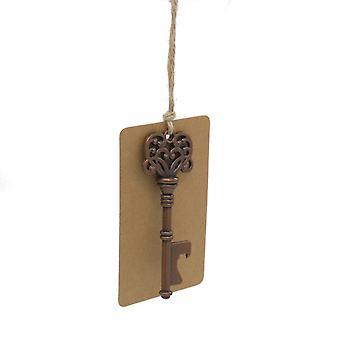 TRIXES 10PK Wedding souvenir chiave Apribottiglie con Swing Tag favori