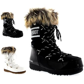 Womens Tecnica Original Moon Boot Monaco Low Waterproof Winter Snow Rain Boots
