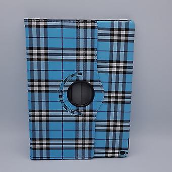 Pour iPad Pro 10,5 pouces boîtier/manchon-damier-bleu