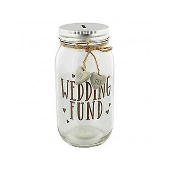 Bryllup fondet Mason krukke