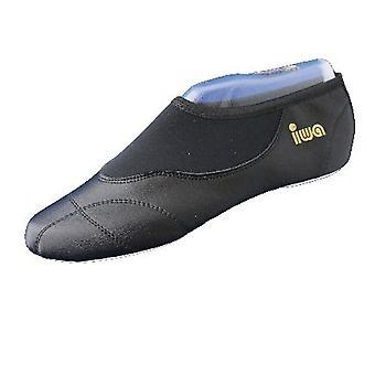 Gewelf schoenen gemaakt van leer met neopreen inzetstukken» IWA-270 «(GR 33-46)»