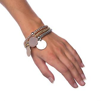 Armband Mixed Metals-Circle