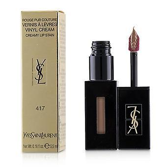 Yves Saint Laurent Rouge Pur Couture Vernis A Levres Vinyl Sahne cremig Fleck - # 417 Beige Bounce - 5.5ml/0.18oz