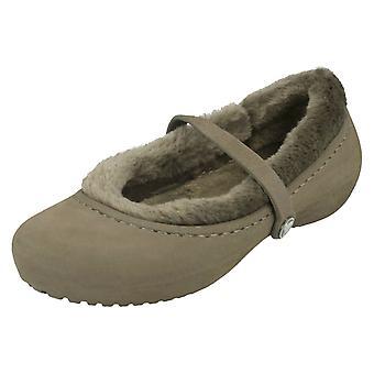 Le Crocs pelliccia scarpe Casual Nanook ragazze ragazze