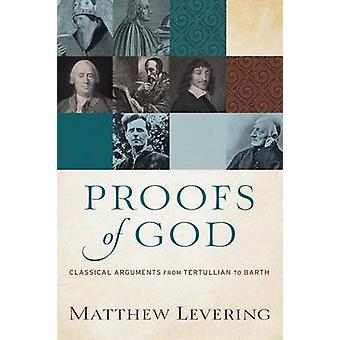 Dowody Boga przez Matthew dźwigniowe - 9780801097560 książki