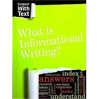 Co to jest pismo informacyjne? przez Charlotte Guillain - 9781406296846