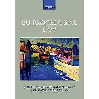 Droit procédural de l'UE (bibliothèque de droit de l'Union européenne Oxford)