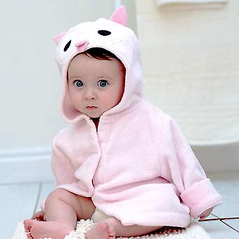 Wise Owl baby bath robe
