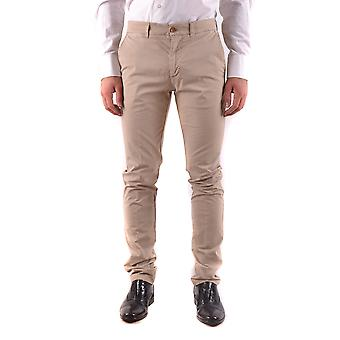 Harmont&blaine Ezbc096006 Men's Beige Cotton Pants