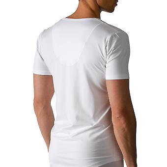Mey 46038-101 Men's Dry Cotton White Solid Colour Short Sleeve Top