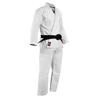 Fuji Sports Mens Lightweight Jiu Jitsu Gi - White
