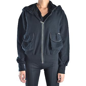 John Galliano Ezbc164050 Women's Black Cotton Sweatshirt