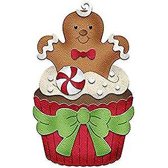 CottageCutz Gingerbread Man Cupcake (CC-337)