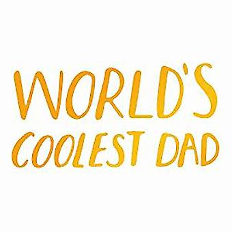 Ultimate Crafts Hotfoil Stamp Coolest Dad (2.5 x 1.3in) (ULT158094)