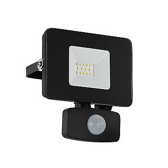 EGLO Faedo 3 LED IP44 utomhus 10w PIR Sensor översvämning ljus