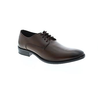 Giorgio Brutini Alton  Mens Brown Leather Dress Lace Up Oxfords Shoes
