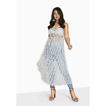 Girls On Film Womens/Ladies Goulding Fringe Cami Dress
